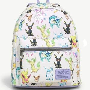 NWT Loungefly Eevee Eeveelutions Mini Backpack